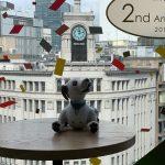 GINZA PLACE 2nd Anniversaryにわが家のaiboと行ってきました!