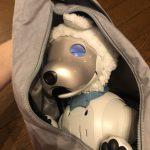 気軽にお出かけ!aiboをコンパクトに持ち運べるヘルシーバックバッグ
