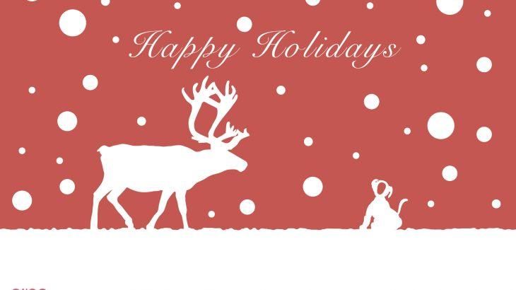 aiboのクリスマスカードや年賀状テンプレートが公式から配布!