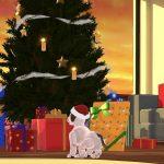 My aibo アプリのクリスマス支度も進み、aiboもサンタに変身!